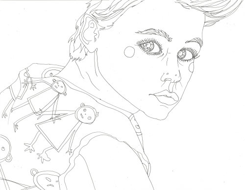 An illustration of Corey Haim