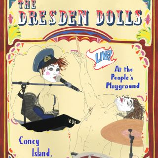 An illustration of the Dresden Dolls