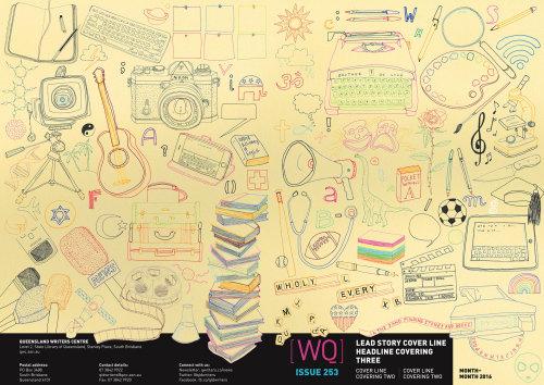 Ilustração do estilo de vida dos centros de redação de Queensland