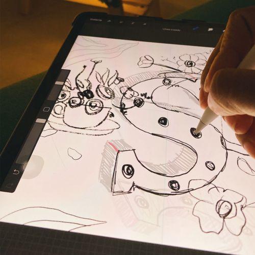 Letter S - Sketch
