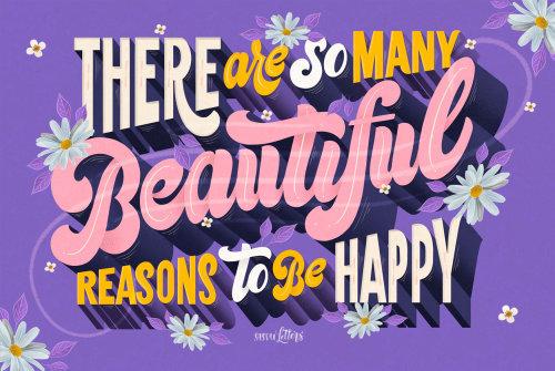 有很多美丽的理由要开心