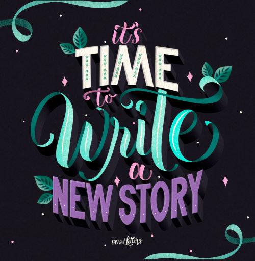 是时候写新故事了