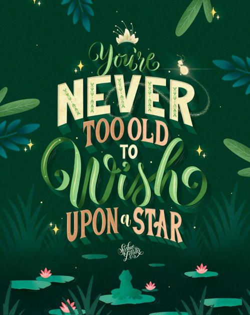 Você nunca é velho demais para desejar uma estrela