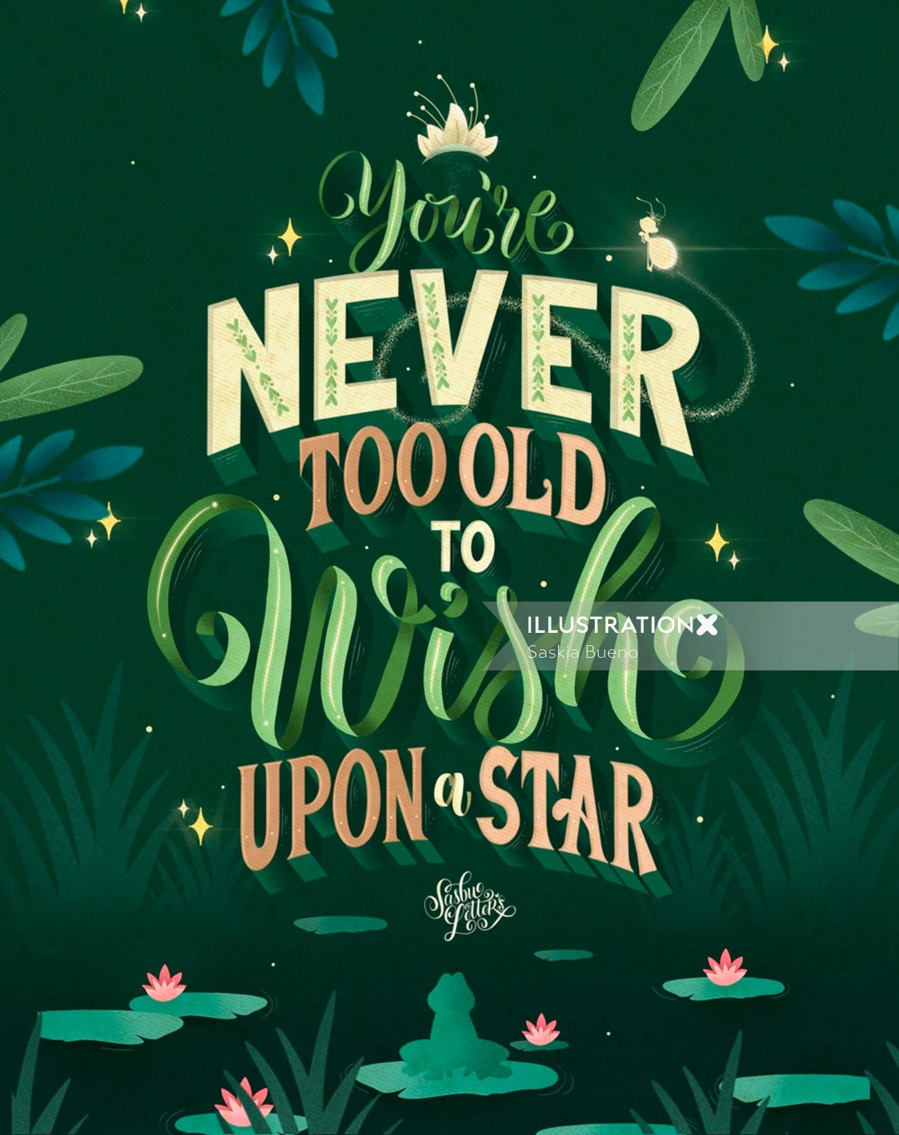 You're Never Too Old To Wish Upon A Star