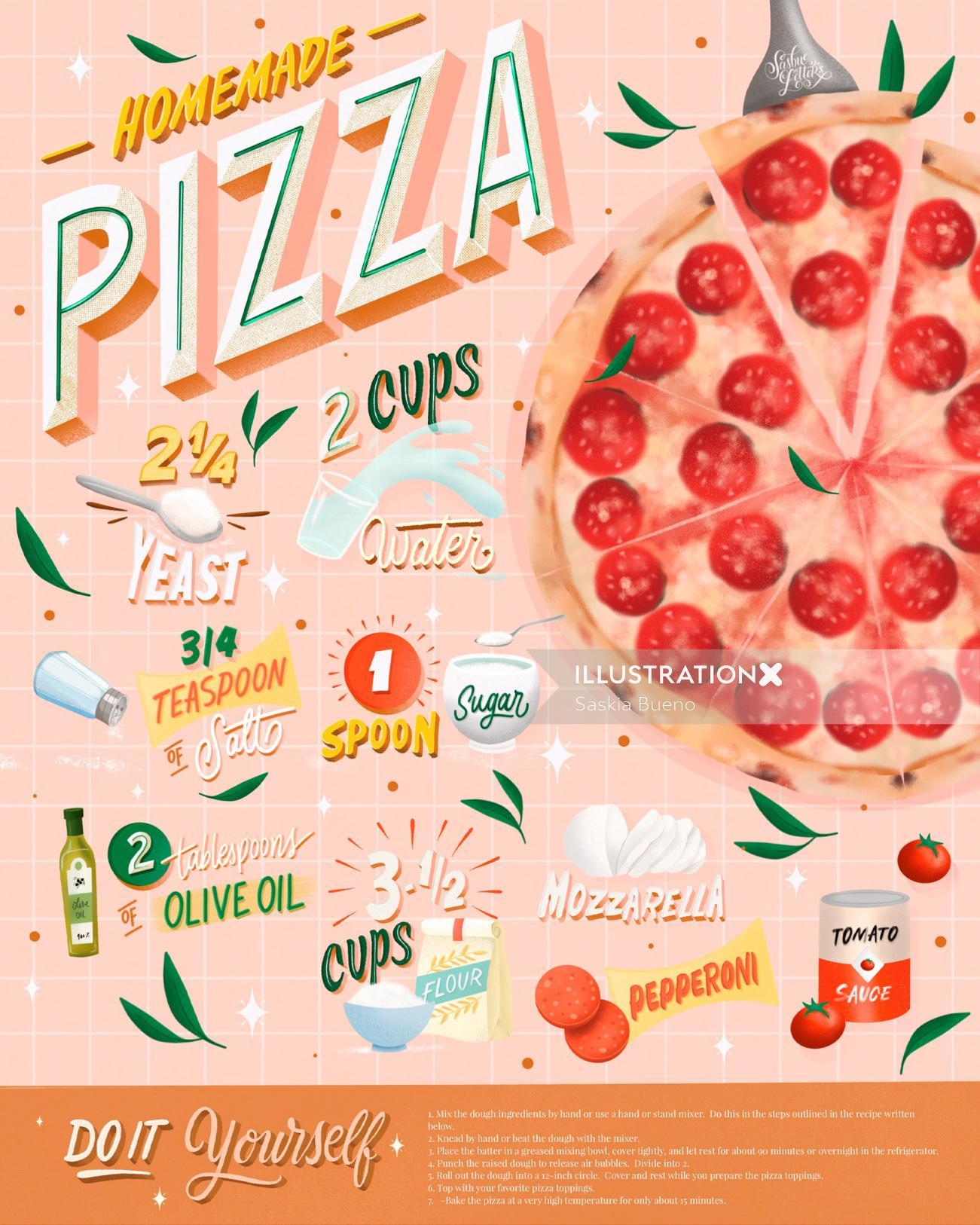 Recipe - Pizza