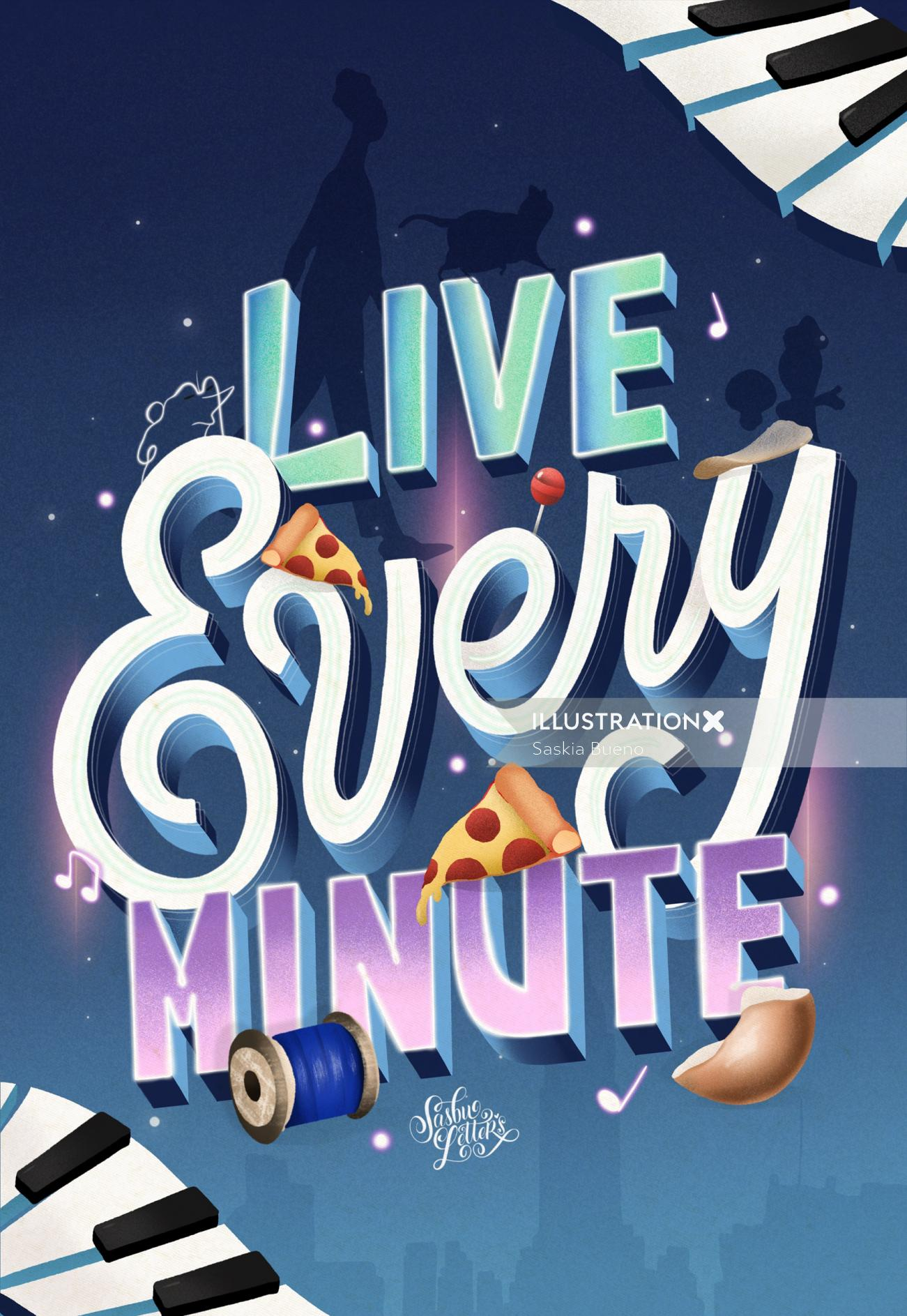 Live Every Minute - Soul