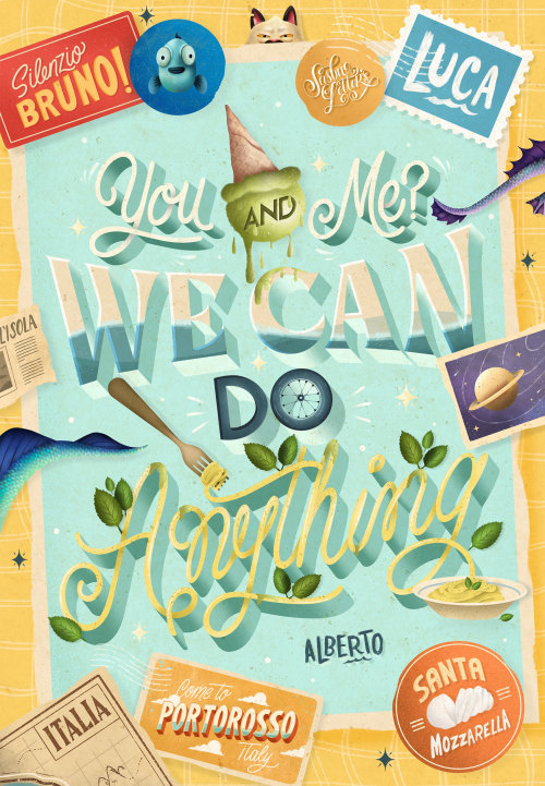 You And Me? We Can Do Anything - Luca Movie