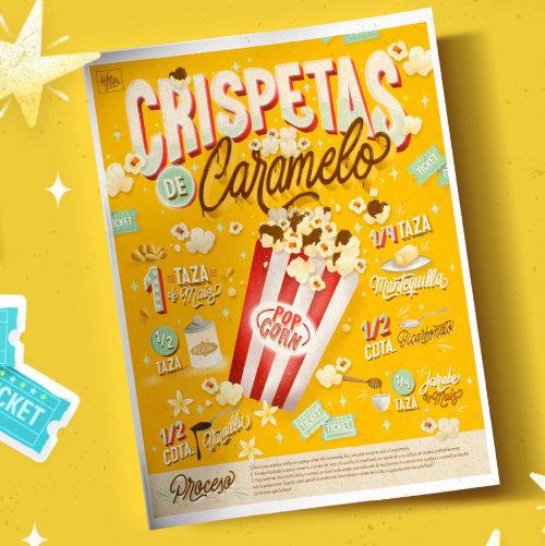 Recipe - Popcorn