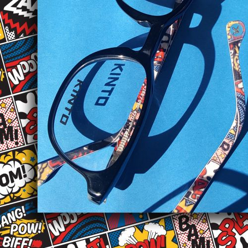 Kinto Kids Eyewear Pattern Design illustration