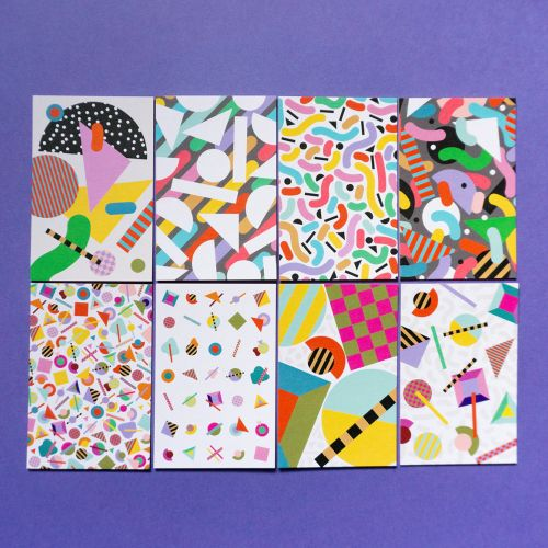 pattern, icons, patterns, icon, colorful, colourful, happy, geometric, maximalism, surface design, b