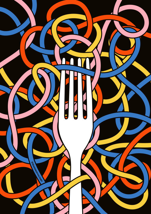 food, drink, restaurant, fork, mural, wall art, event graphic, poster, food festival, diet