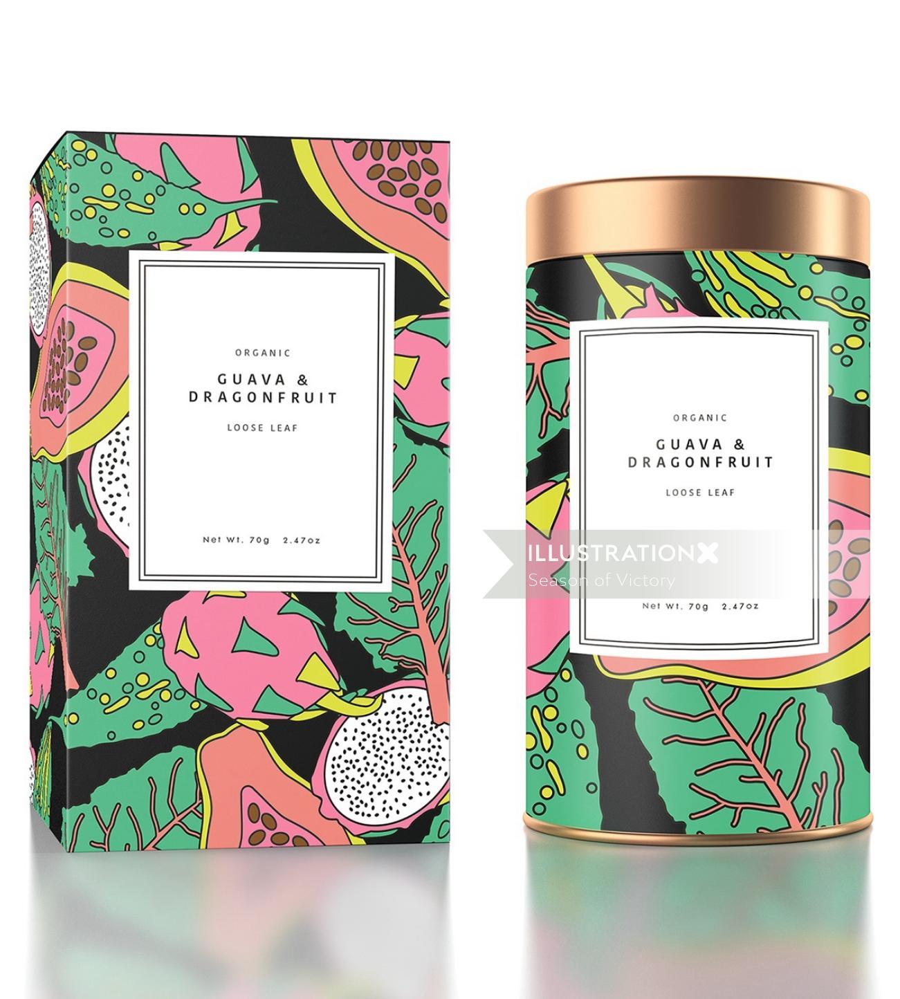 fruit, packaging, pattern, vegetable, tropical, fruity, exotic, drink, tea