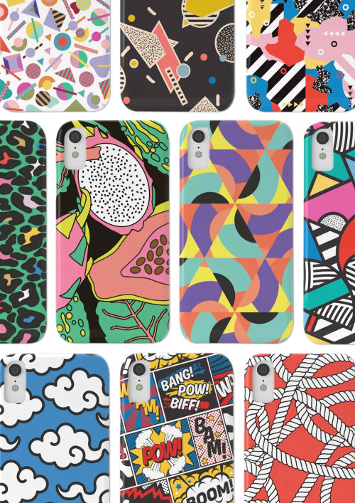 Patterns illustration for phone covers