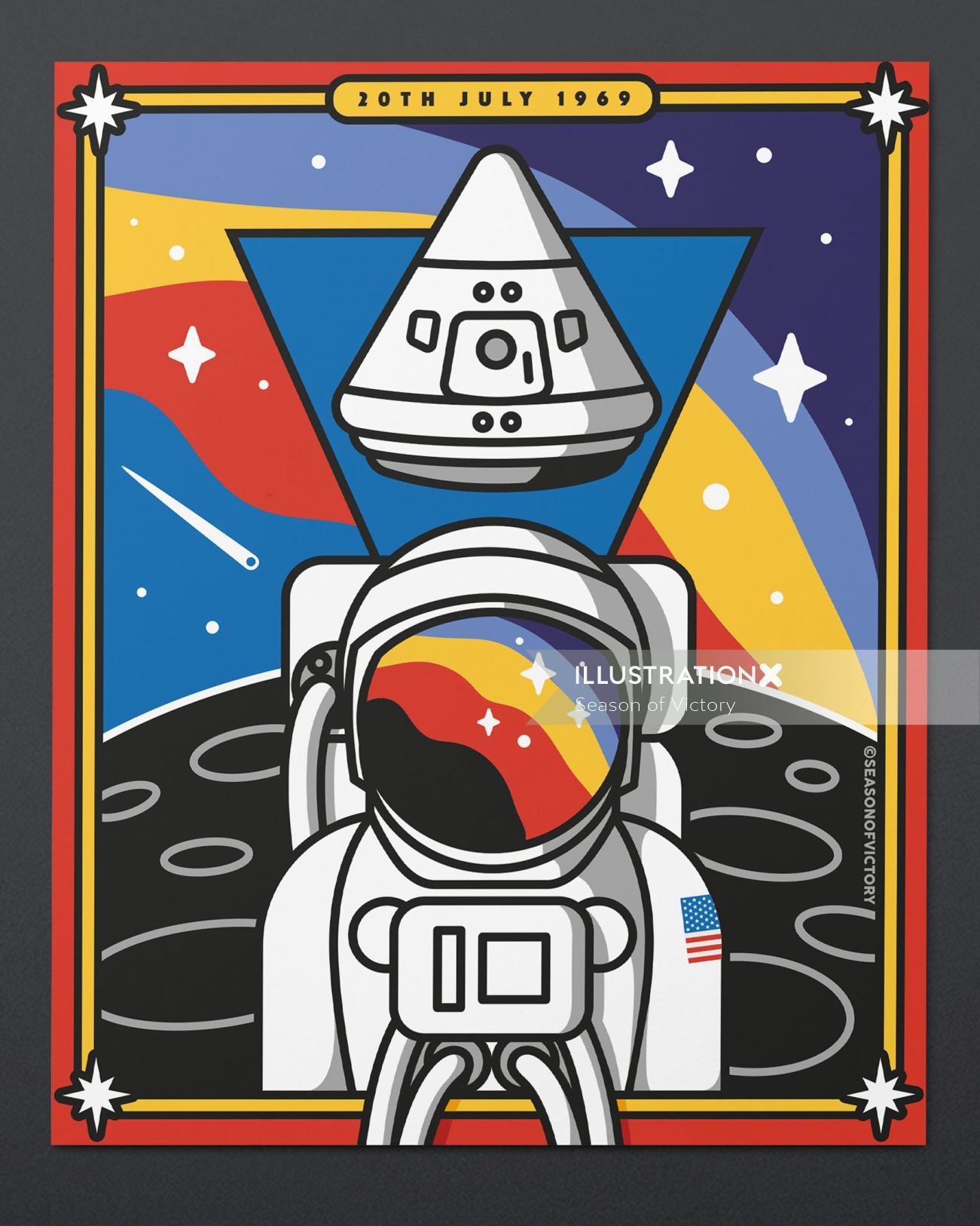 50th Anniversary of the Apollo 11 moon landing.