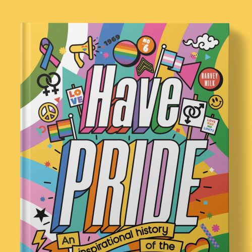 Book cover design of Have pride