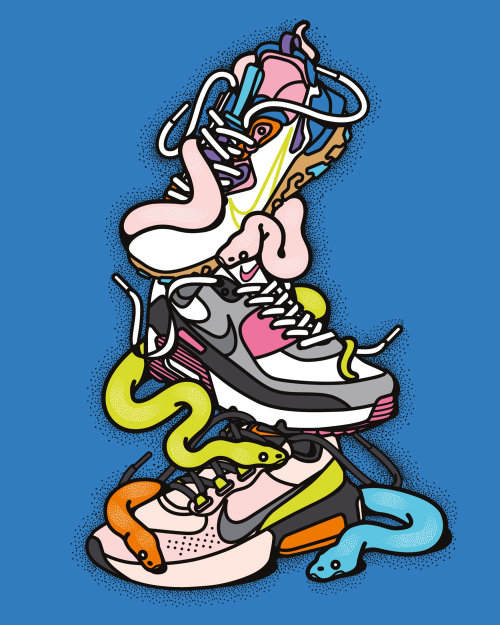 sneakers, trainers, fashion, urban, snakes, reptiles, animal, fashion, shoe, poster, event, fitness,