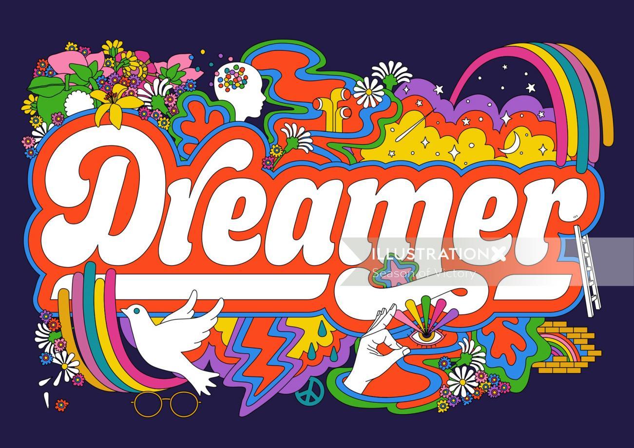 dreamer, imagine, johnlennon80th, johnlennon80thbirthday, imaginejohnlennon, dreamerjohnlennon, john