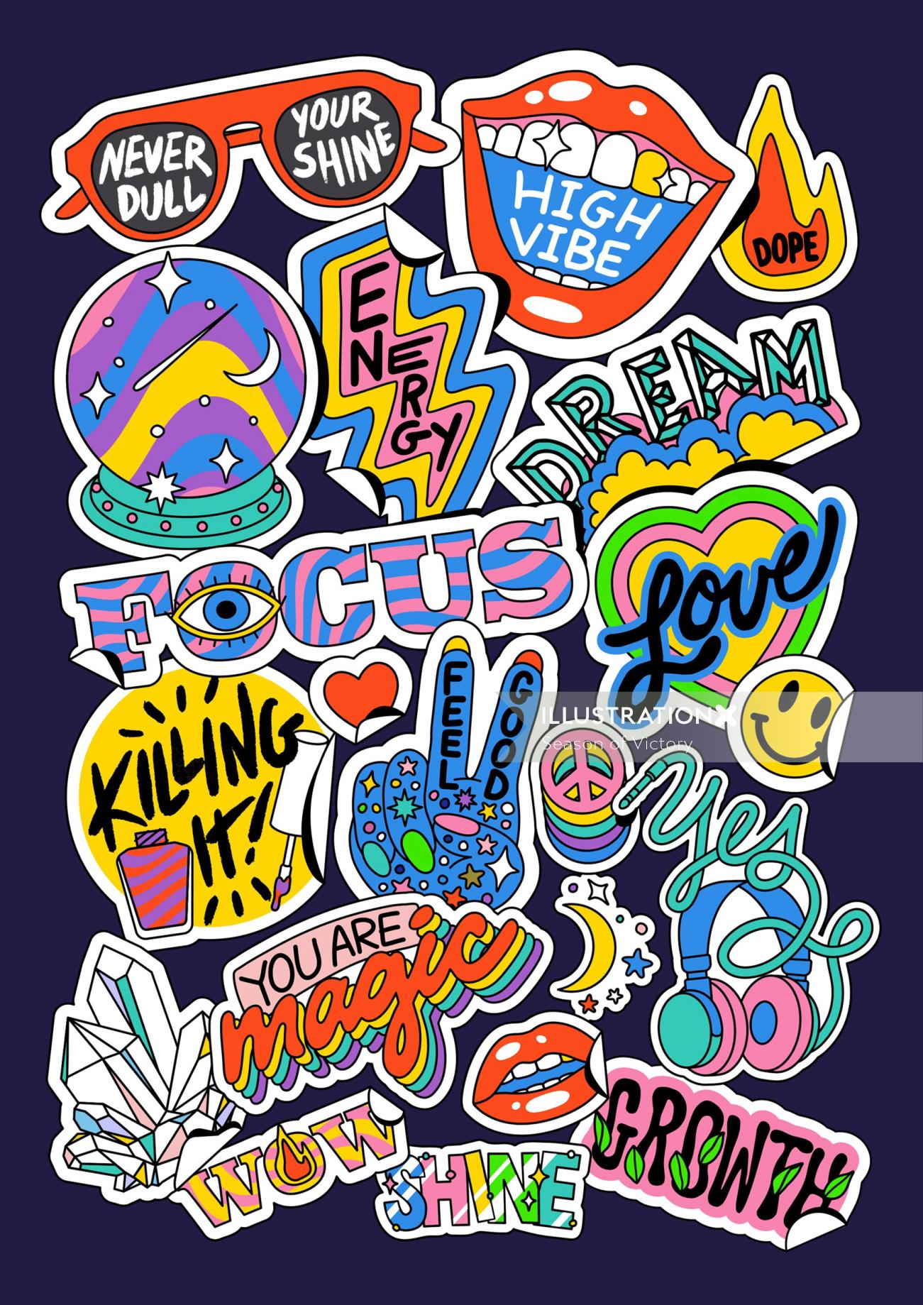 stickers, sticker, gif, giphystickers, fun, colorful, growth, mood, energetic, packaging, pattern, m