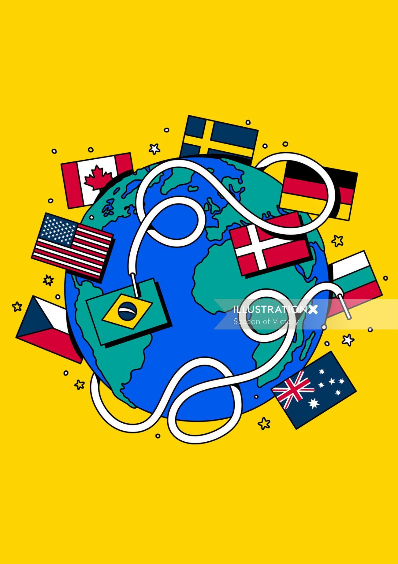 football, women, international womens day, sports, editorial art, world cup, olympics