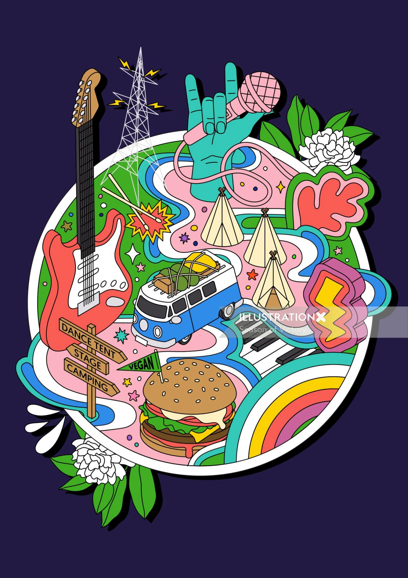 music, music festival, festival, travel, trip, holiday, world, trip, entertainment, outdoor venue, o
