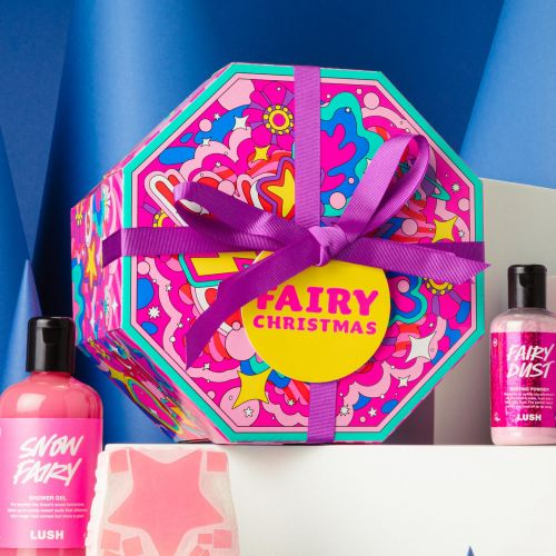 christmas, packaging, psychedelic, colorful packaging, christmas gift packaging, limited edition pac