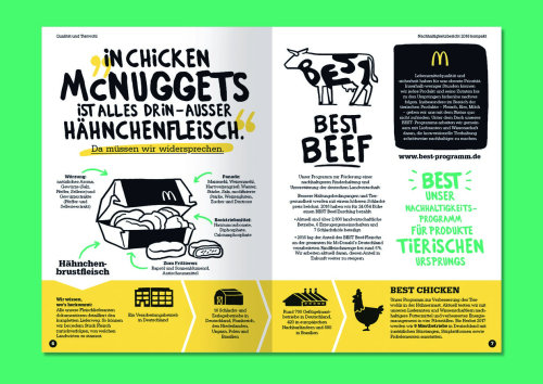Graphic Best Beef and chicken nuggets lettering