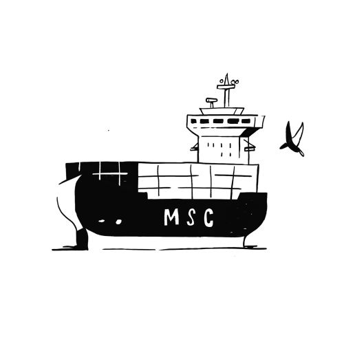 MSC Cruise gif animation