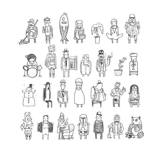Sebastian Iwohn Diseño de personajes