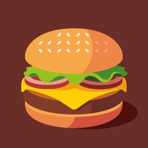 Food & Drinks burger