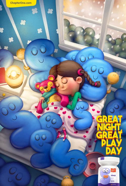 Children's Vitamin Gummies supplements campaign