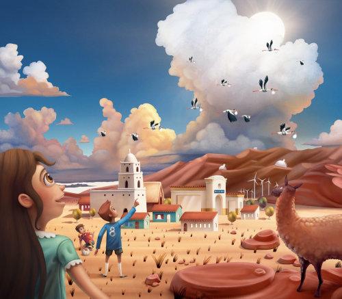 children Campaign for 2018 Teleton in Chile