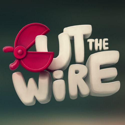 Cut the wire logo design