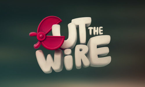 Cut the Wire Game Logo