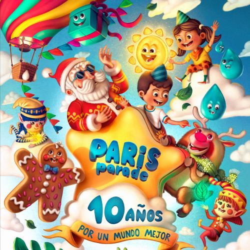 Disneyland Paris Parade poster design