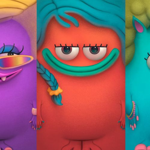 Fashion Monster character design