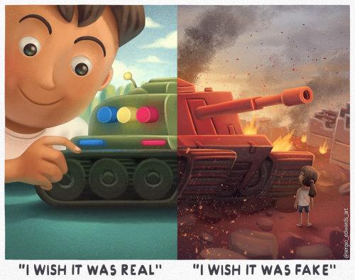 Character design of boy and gun