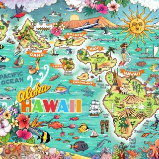 Graphic illustration of 100 piece puzzle project