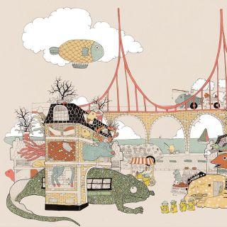 The city of Animamaly illustration