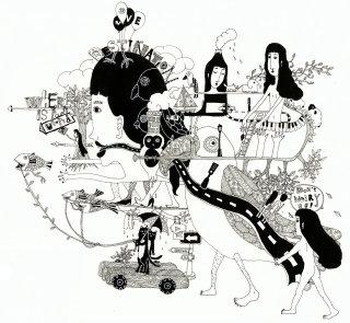 Illustration for The odd dream story by Shanghee Shin