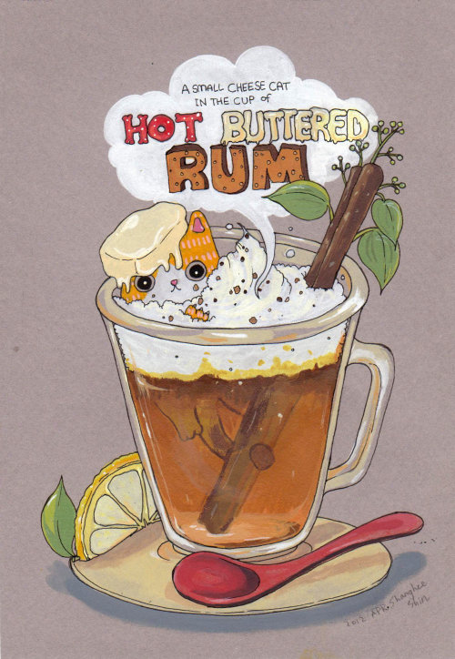 Hot Buttered Rum Acrylic Ink