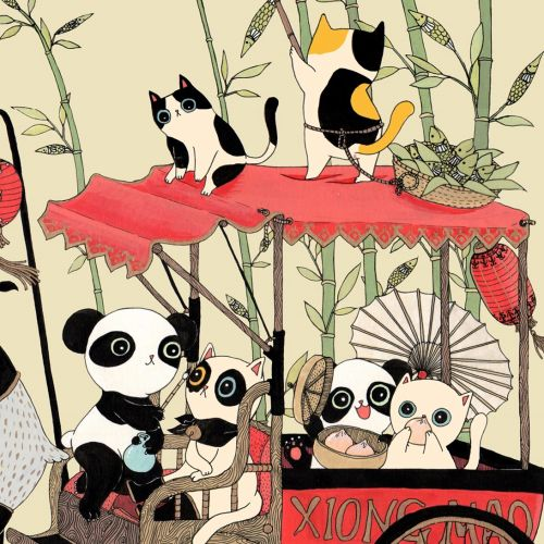 Animamaly: Xiongmao cartoon animal