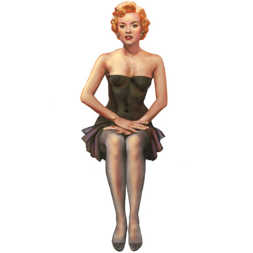 Illustration of Marilyn Monroe