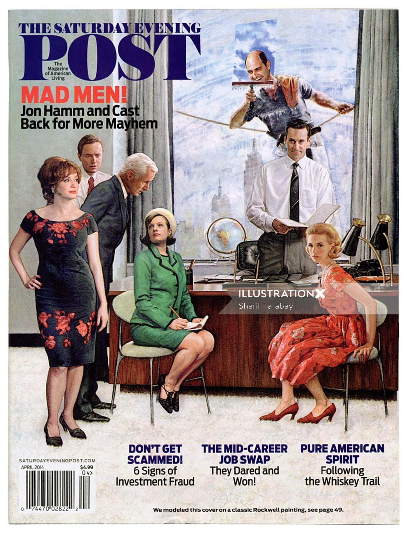 Graphic Post magazine cover