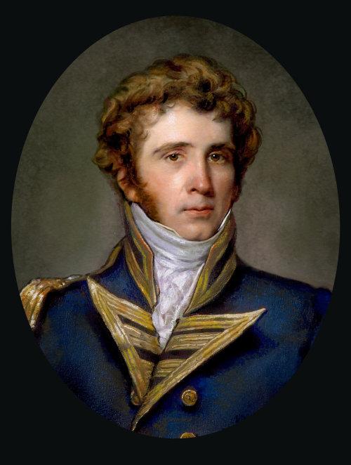 Ilustração do retrato do homem inglês
