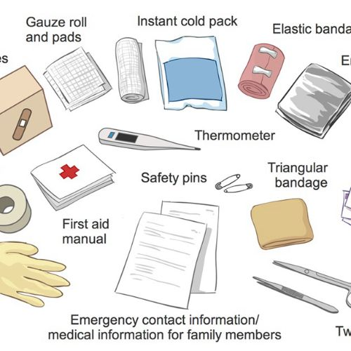 First Aid Kit illustration by Shelley Li Wen Chen