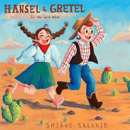 Hansel and Gretel book cover design