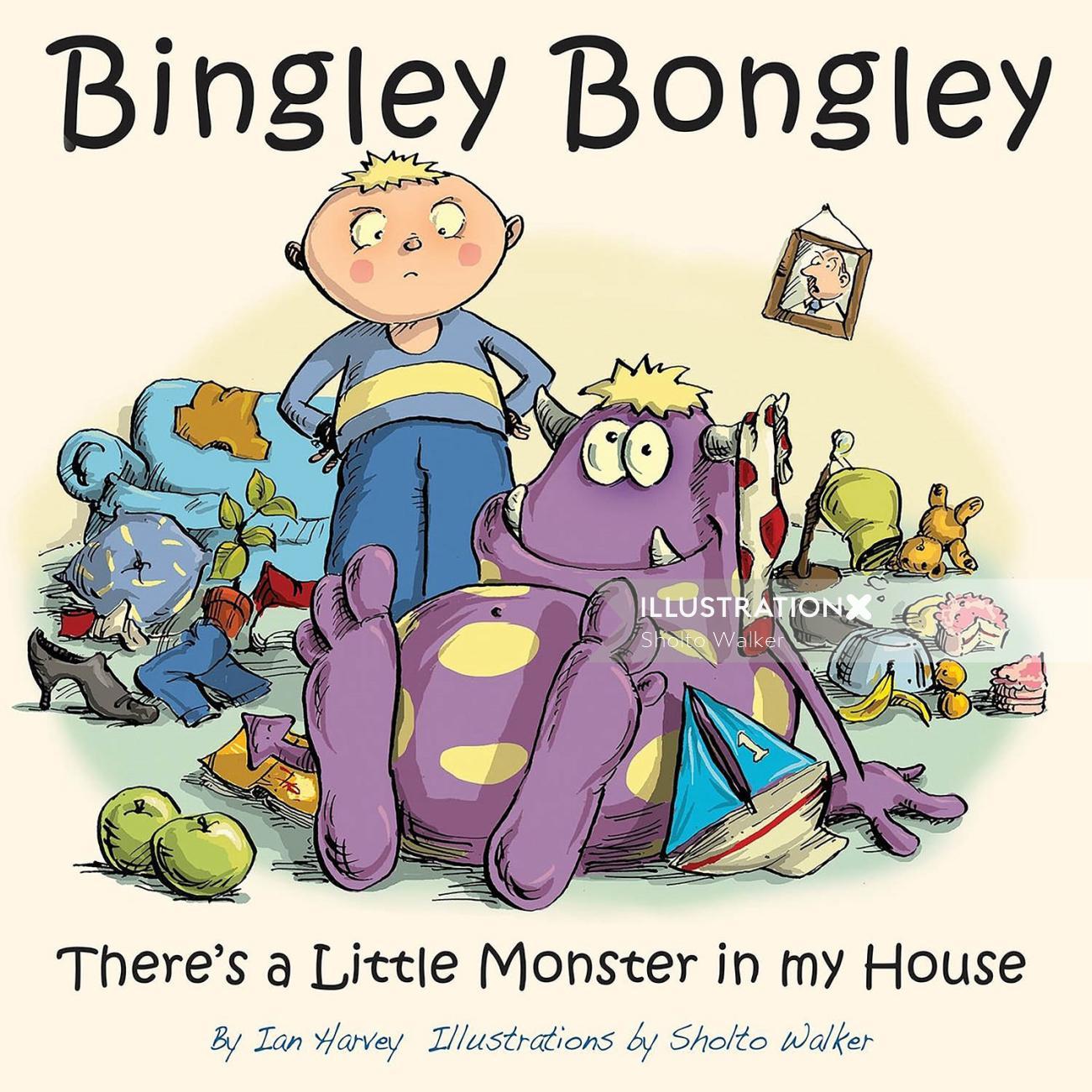 Bingley Bongley Book Cover art