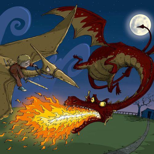 Children's Book Illustration By Sholto Walker