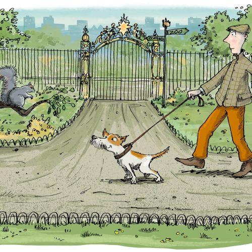 Sholto Walker International children's book illustrator. UK