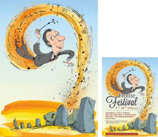 Poster art for Frome festival